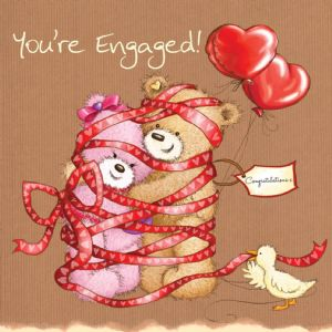 You're Engaged - the happy couple